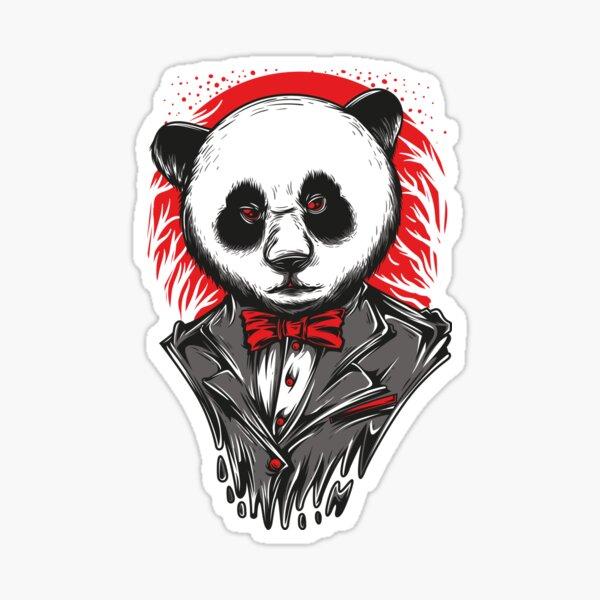 mafia panda Sticker