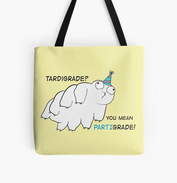 Partigrade Tardigrade All Over Print Tote Bag