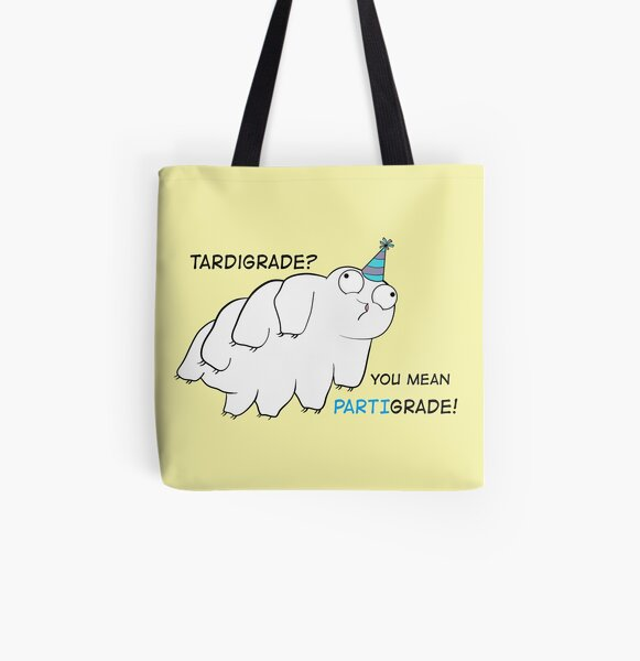 Partigrade Tardigrade All Over Print Tote Bag
