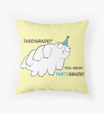 Partigrade Tardigrade Throw Pillow