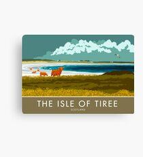 The Isle of Tiree, Scotland Canvas Print