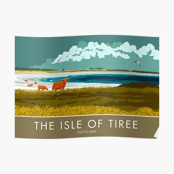 The Isle of Tiree, Scotland Poster
