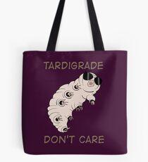Tardigrade Don't Care Tote Bag