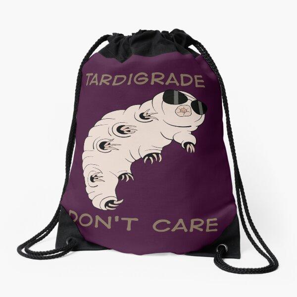 Tardigrade Don't Care Drawstring Bag
