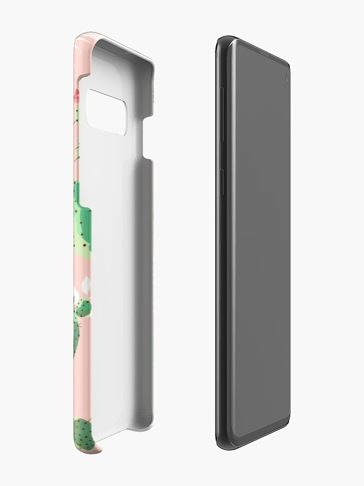 Alternate view of Cactus Print Case & Skin for Samsung Galaxy