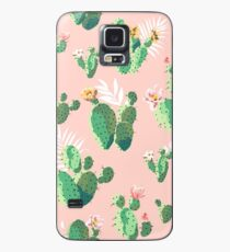 Cactus Print Case/Skin for Samsung Galaxy
