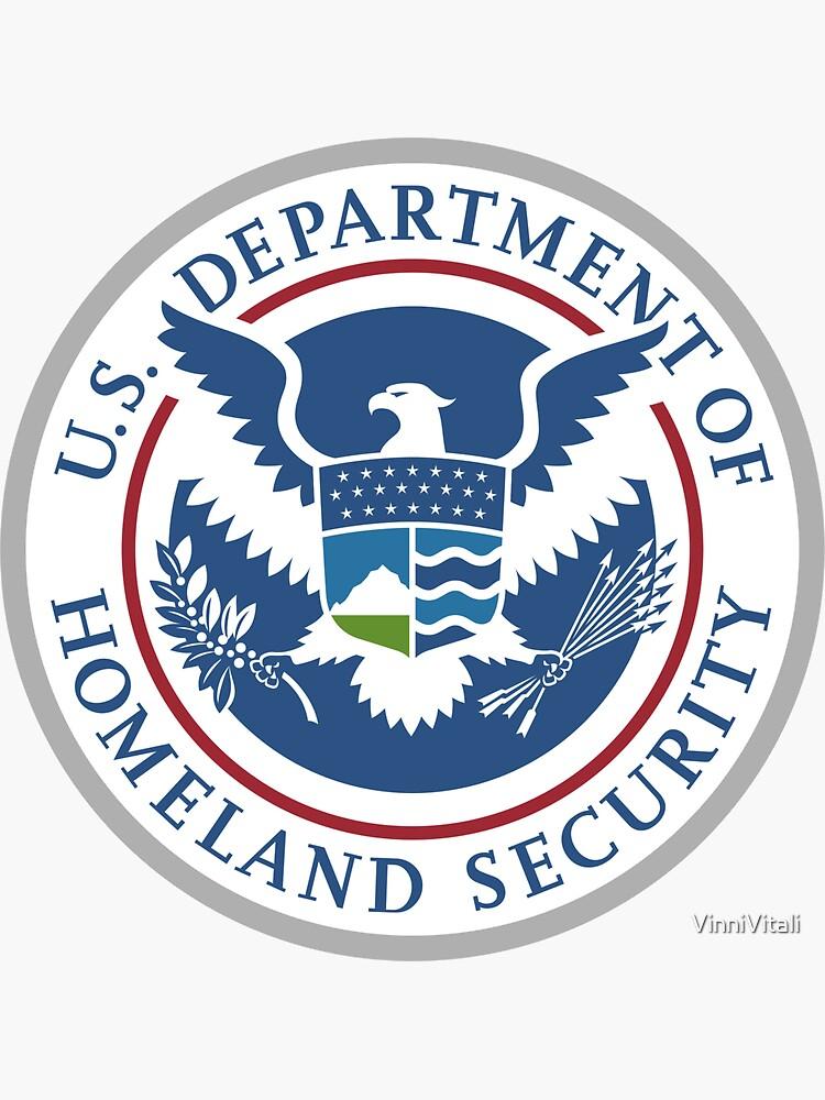 9.11 U.S. Department of Homeland Security by VinniVitali
