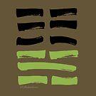 07 Army I Ching Hexagram by SpiritStudio