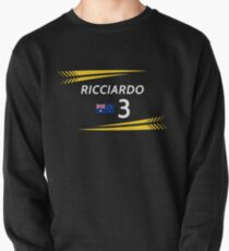 F1 2019 - #3 Ricciardo [black version] Pullover