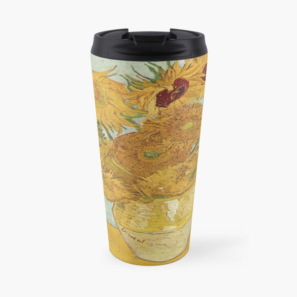 Vincent van Goghs Sonnenblumen Thermobecher
