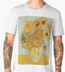 Vincent van Gogh's Sunflowers Men's Premium T-Shirt