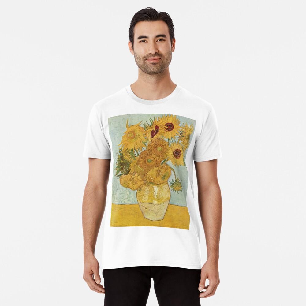 Vincent van Gogh's Sunflowers Premium T-Shirt