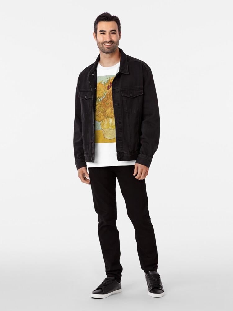 Alternate view of Vincent van Gogh's Sunflowers Premium T-Shirt
