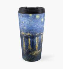 Vincent van Gogh - Starry Night Over the Rhone Travel Mug