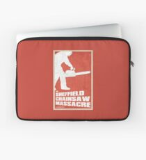 THE SHEFFIELD CHAINSAW MASSACRE POSTER Laptop Sleeve