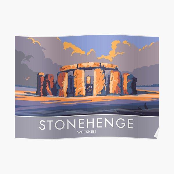 Stonehenge, Wiltshire Poster