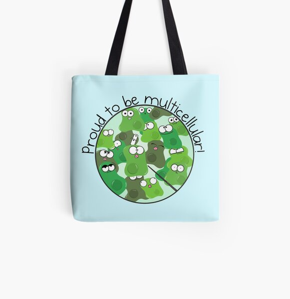 Proud to be Multicellular All Over Print Tote Bag