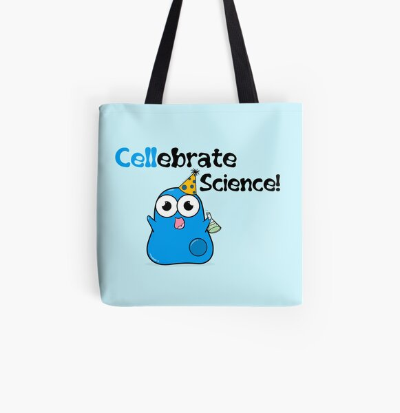 Cellebrate Science! All Over Print Tote Bag