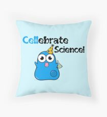 Cellebrate Science! Throw Pillow