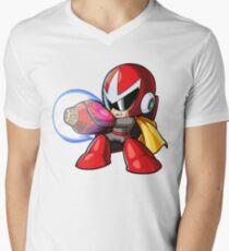 Chibi Protoman Men's V-Neck T-Shirt