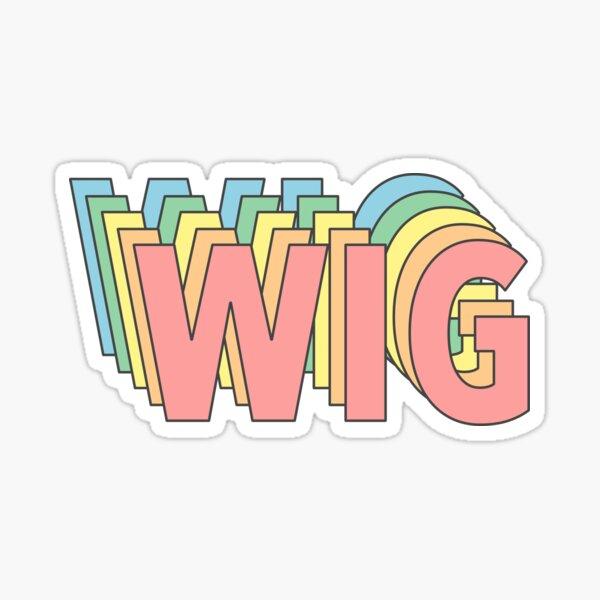 Wig Sticker