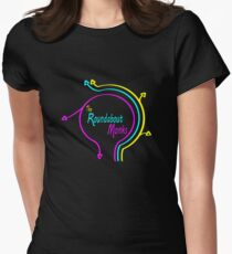 The Roundabout Monks Logo Women's Fitted T-Shirt