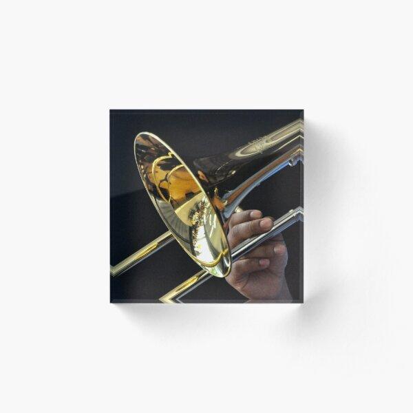 Trombone Acrylic Block