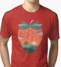 Erdbeerfelder Vintage T-Shirt