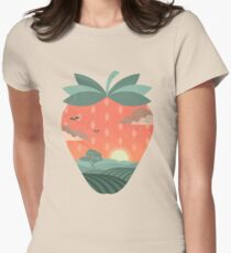 Strawberry Fields Fitted T-Shirt