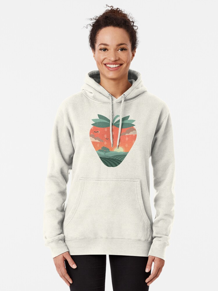 Alternate view of Strawberry Fields Pullover Hoodie