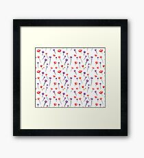 Cute floral  Framed Print