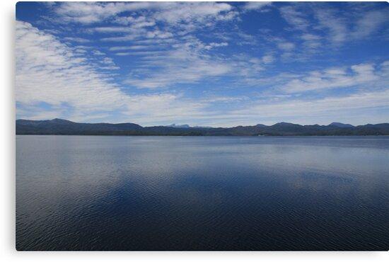 Macquarie Harbour - Strahan - Tasmania by John McNair