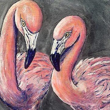 Flamingos by Creatividad
