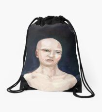 Portrait Drawstring Bag