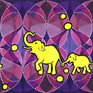 Yellow Elephants von Mandalavision