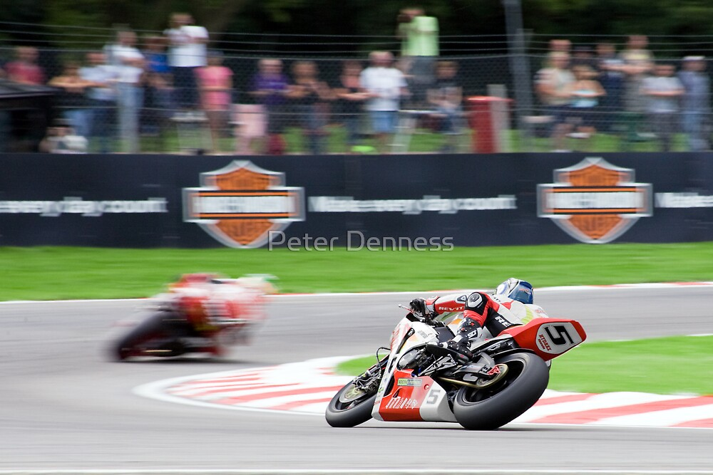 Sharp Corner by Peter Denness