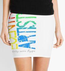 """""""Vertical"""" Mini Skirt"""