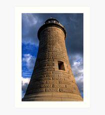 Tynemouth Lighthouse Art Print
