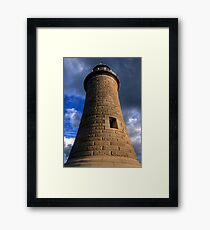 Tynemouth Lighthouse Framed Print