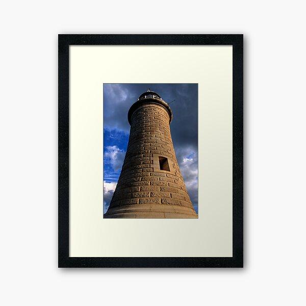 Tynemouth Lighthouse Framed Art Print