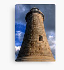 Tynemouth Lighthouse Metal Print