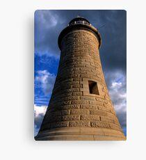Tynemouth Lighthouse Canvas Print