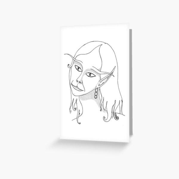 Fairy Lass Greeting Card