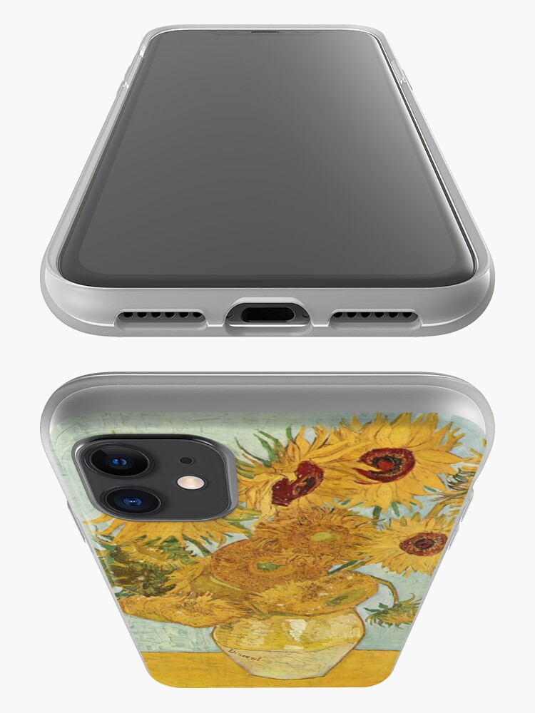 Alternate view of Vincent van Gogh's Sunflowers iPhone Case & Cover