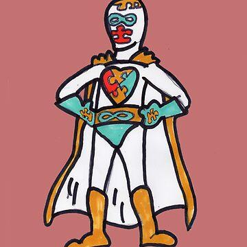 AUTISMO!  The Autistic Super Hero! by PositiveAutism