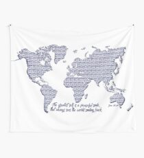 When the World Smiles Wall Tapestry