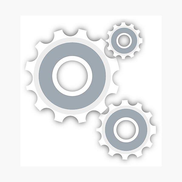 Gear Cog Wheel Photographic Print
