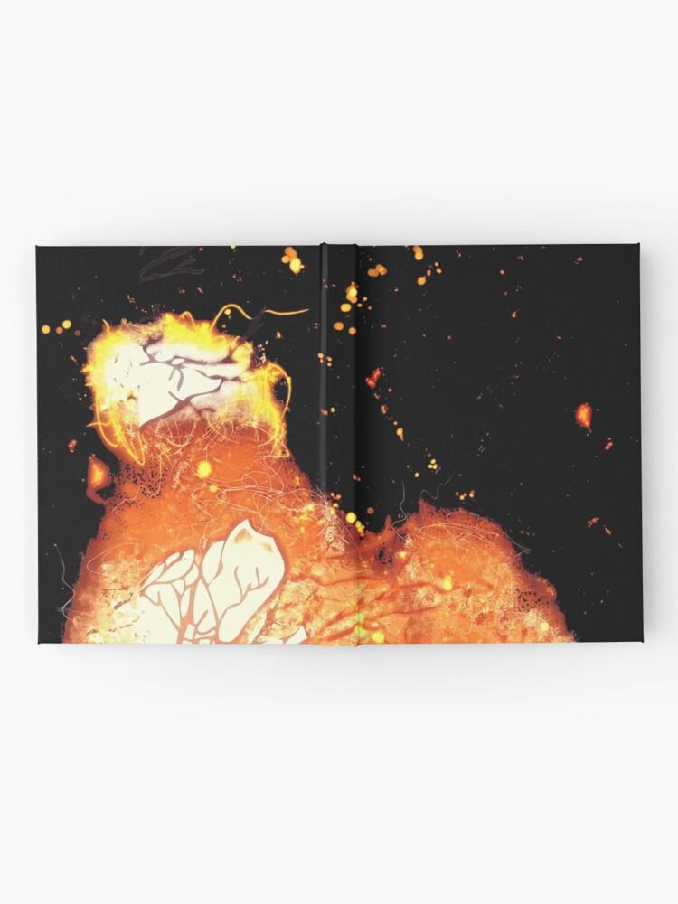 Vista alternativa de Cuaderno de tapa dura Crow branches burning