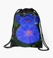 Ipomoea Indica Drawstring Bag
