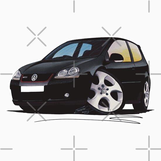 TShirtGifter presents: VW Golf GTi (Mk5) Black